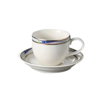 コーヒー紅茶 洋食器 / ブルーウェーブ(N.B)デミタス碗皿 寸法:碗6.4 x 5.1cm 120cc 皿11.3cm