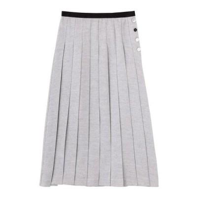 スカート ワンウェイプリーツスカート