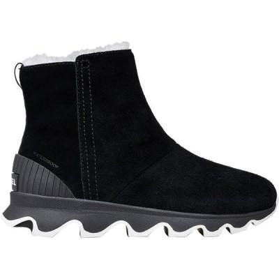 ソレル ブーツ&レインブーツ レディース シューズ Kinetic Short Boot - Women's Black/Sea Salt