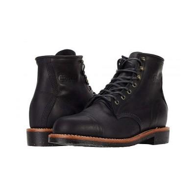 Chippewa チペワ メンズ 男性用 シューズ 靴 ブーツ ワークブーツ Brentwood Homestead - Black