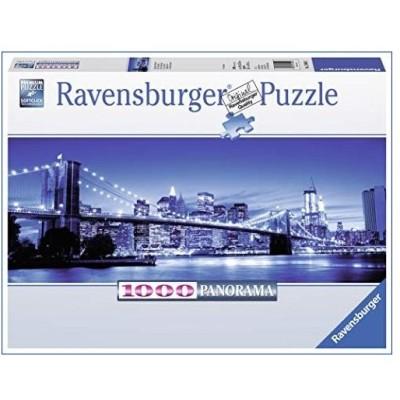 Leuchtendes New York. Puzzle 1000 Teile: Panorama 並行輸入品