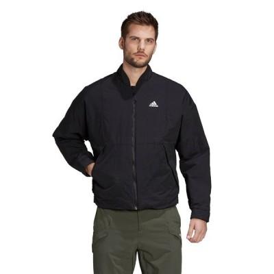 アディダス メンズ ジャケット&ブルゾン アウター adidas Outdoors jacket in black Black
