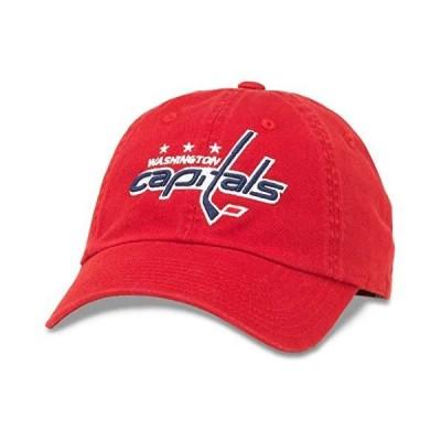 American Needle ブルーライン NHL チームダッドハット ワシントン・キャピタルズ レッド (40742A-WAC)