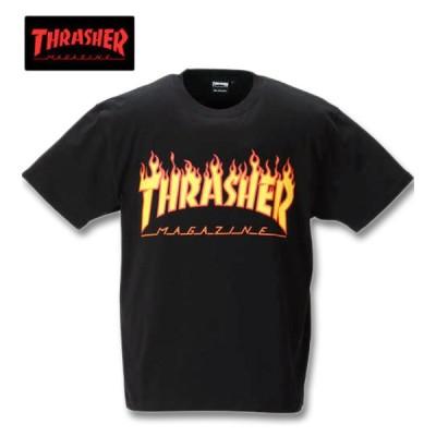大きいサイズ メンズ THRASHER 半袖Tシャツ 3L 4L 5L 6L 8L