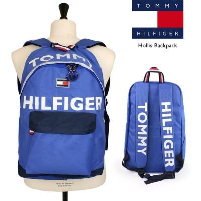 トミー・ヒルフィガー TOMMY HILFIGER Hollis Backpack メンズ レディース バックパック 反射 リュックサック かばん PC バッグ ブランド ロゴ おしゃれ