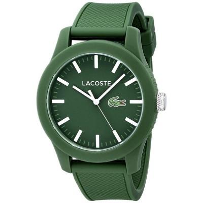ラコステ LACOSTE メンズ 腕時計 ウォッチ シリコンバンド 2010763 グリーン 並行輸入品