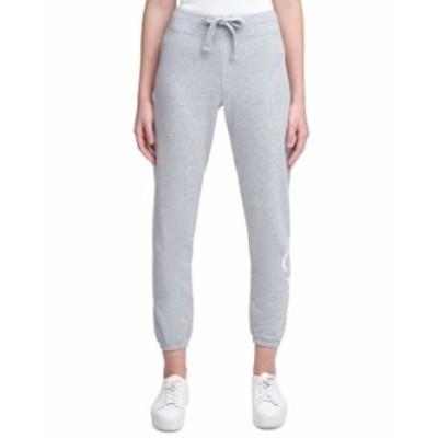 カルバンクライン レディース カジュアルパンツ ボトムス Logo-Print Sweatpants Black