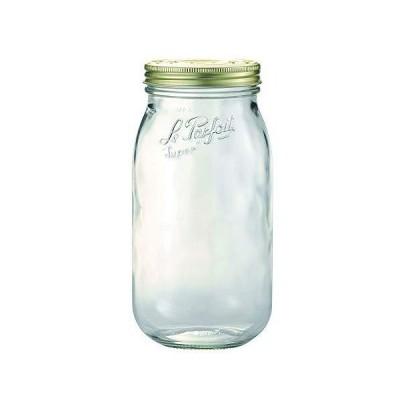 【1個】ル・パルフェボーカルキャップジャー2L1個 ガラス 瓶 保存 ストッカー 可愛い おしゃれ ピクルス ジャ