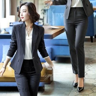 スラックス パンツ ビジネスパンツ レディース ボトムズ スリムパンツ スーツ パンツ 通勤 オフィス ビジネススーツ フォーマル 洗える 就活
