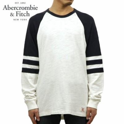 アバクロ ロンT メンズ 正規品 Abercrombie&Fitch 長袖Tシャツ クルーネックTシャツ LONG-SLEEVE VARSITY TEE 124-228-0207-104