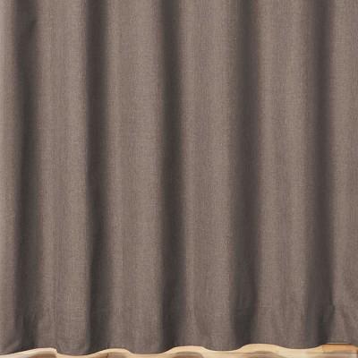 ベルーナインテリア 日本製100サイズ防音・断熱・保温・1級遮光カーテン ブラウン ブラウン 約幅100×丈135cm レディース