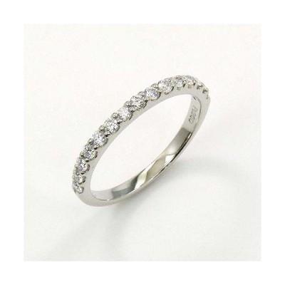 ダイヤモンド 0.28カラット(VVS2・Gカラー) プラチナハーフエタニティリング(Pt900ダイヤ0.28ctR)