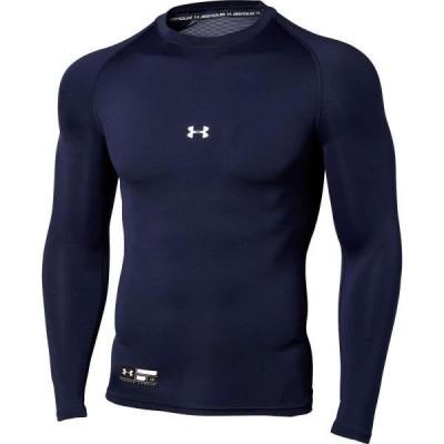 アンダーシャツ メンズ ロングTシャツ トップス メンズ UA HG ARMOUR COMP LS CREW MDN  (UDR)(CQB27)