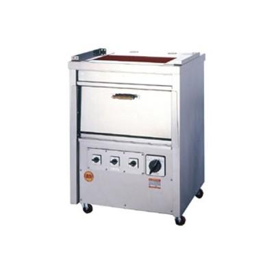 業務用 ヒゴグリラー オーブン付タイプ三相200V 幅770×奥行650×高さ1,040 (GO-10)