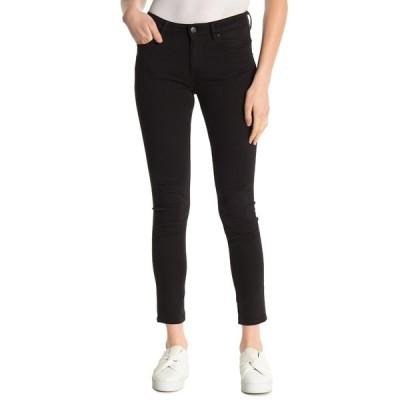 ヴィゴス レディース デニムパンツ ボトムス Marley Mid Rise Super Skinny Jeans BLACK