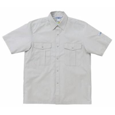 2665 春夏用半袖シャツ (クロダルマKURODARUMA) 社名刺繍無料 S~4L 綿60%・ポリエステル40%