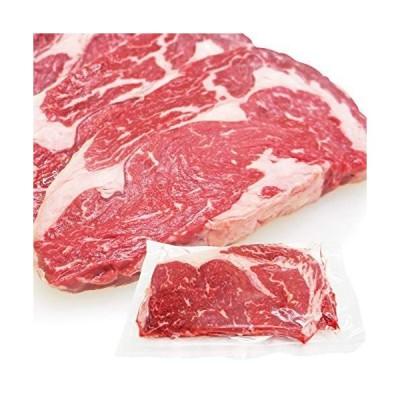 リブロースステーキ牛肉 ニュージーランド産 厚切り 冷凍 1枚(250g) 芯部分のみ使用