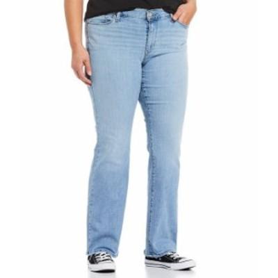 リーバイス レディース デニムパンツ ボトムス Levi'sR Plus Size Classic Boot Leg Jeans Oahu Clouds