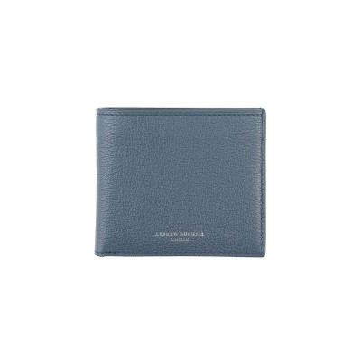 DUNHILL 財布 ブルーグレー 革 財布