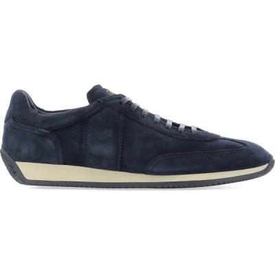 ファビ Fabi メンズ スニーカー シューズ・靴 Suede Sneaker Blue