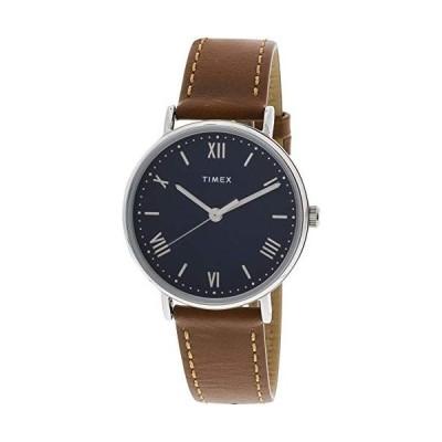 腕時計 タイメックス メンズ TW2R63900 Timex Men's Southview TW2R63900 Silver Leather Japanese Quart