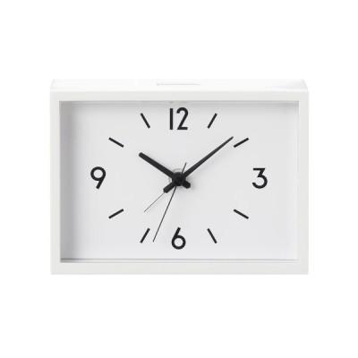 無印良品 駅の時計・アラームクロック・アイボリー 38673576 良品計画