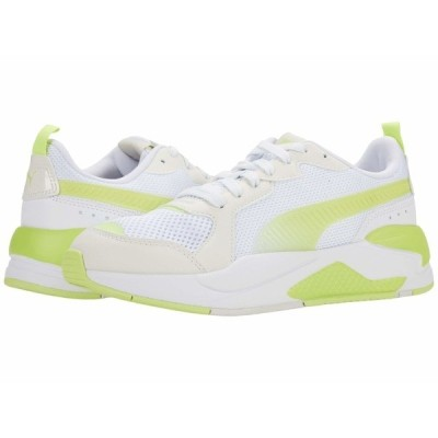 プーマ スニーカー シューズ レディース X-Ray Fantastic Plastic Puma White/Sharp Green/Vaporous Gray