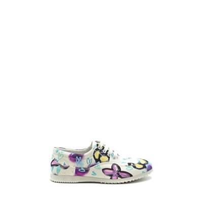 Hogan Luxury Fashion Woman MCBI38454 White Fabric Sneakers | Season Outlet 並行輸入品