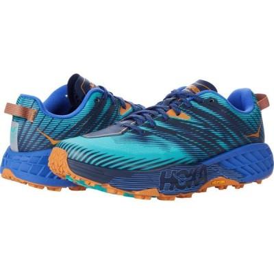 ホカ オネオネ Hoka One One メンズ ランニング・ウォーキング シューズ・靴 Speedgoat 4 Atlantis/Dazzling Blue