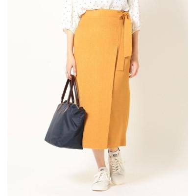 【シップス/SHIPS】 SHIPS any:ラップライクタイトスカート