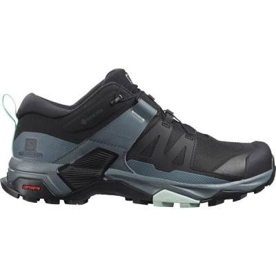 サロモン Salomon レディース ハイキング・登山 シューズ・靴 X Ultra 4 GTX Hiking Shoe Black/Stormy Weather/Opal Blue