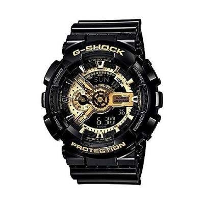 CASIO[カシオ] MODEL NO.ga110gb-1a G-SHOCK (GA-110GB-1A) ゴールド×ブラック 腕時計 ウオッチ [並行輸入品]