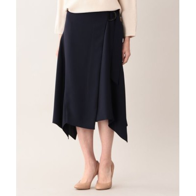 AMACA/アマカ セラテリー スカート ネイビー2 38