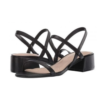 Kenneth Cole New York ケネスコールニューヨーク レディース 女性用 シューズ 靴 ヒール Maisie Low Simple - Black Leather