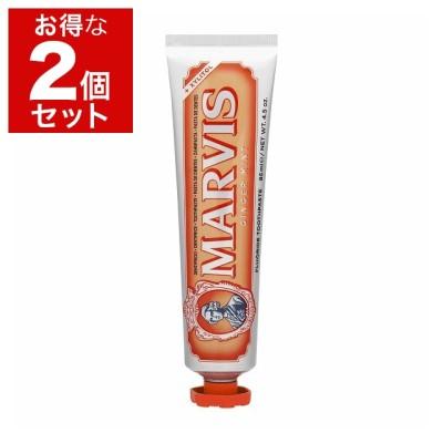 マルヴィス ジンジャーミント 歯磨き粉 お得な2個セット 85ml x 2