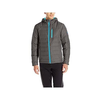 Spyder Men's Dolomite Hoody, Polar/Electric Blue, Large