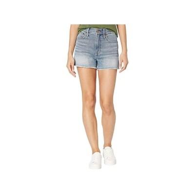 Madewell The Perfect Jean Short in Balsam Wash: TENCEL Denim Edition レディース ショートパンツ ズボン 半ズボン Bartow Wash