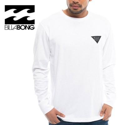 ビラボン ロングスリーブTシャツ メンズT 長袖 白 ホワイト トップス ロンT BA012052