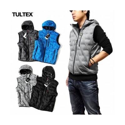 中綿ジャケット ジャケット メンズファッション 秋冬 アウトドア 釣り キャンプ ワークウェア 色々使える TULTEX 防風 ストレッチ 中綿ベスト 中綿