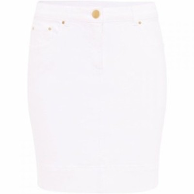 ダンセル Damsel in a Dress レディース スカート Polar Denim Skirt White