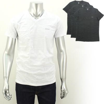 ディーゼル DIESEL VネックTシャツ3枚セット SPDM-AALW