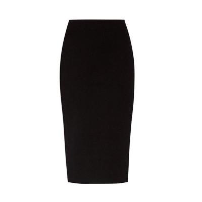 ザ ロウ The Row レディース ひざ丈スカート スカート Rabina stretch-jersey pencil skirt Black