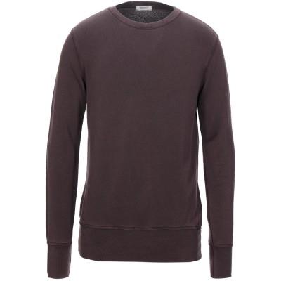 CROSSLEY スウェットシャツ ディープパープル L テンセル 65% / コットン 35% スウェットシャツ