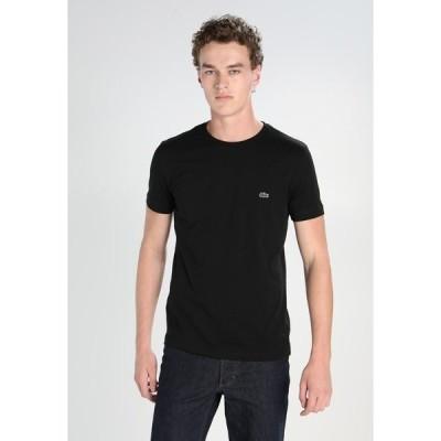 ラコステ Tシャツ メンズ トップス Basic T-shirt - black