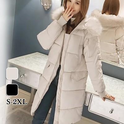 LH828 韓国ファッション  ロングコート秋冬防寒 タイプ アウター  レディースファッション  ふわふわボアジャケット