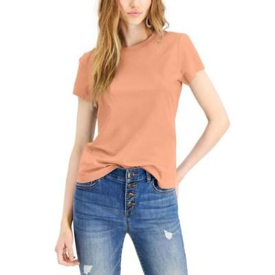 アイエヌシーインターナショナルコンセプト レディース シャツ トップス INC Petite Cotton T-Shirt