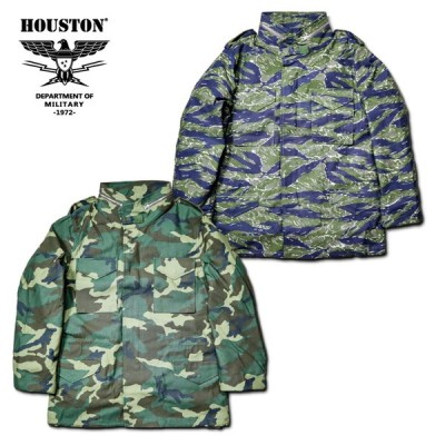 HOUSTON / ヒューストン 50822 M-65 JACKET CAMO / M-65 ジャケット カモ -全2色-