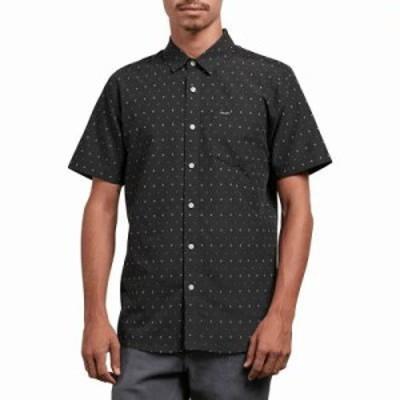 ボルコム 半袖シャツ Frequency Dot Shirts Stealth