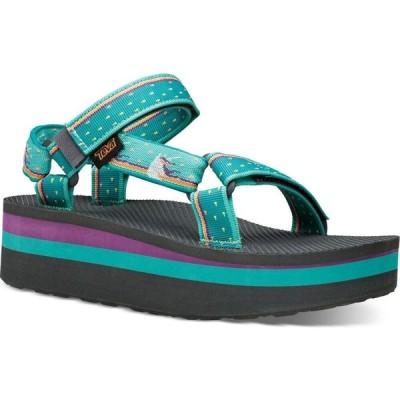 テバ Teva レディース サンダル・ミュール シューズ・靴 flatform universal sandals Unicorn Waterfall