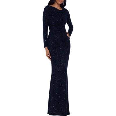 ベッツィアンドアダム Betsy & Adam レディース パーティードレス ワンピース・ドレス Embellished Cowlneck Gown